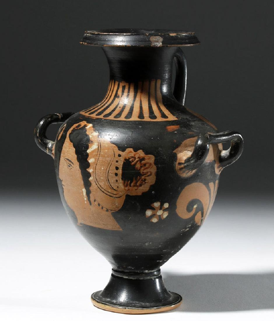Greek Apulian Red-Figure Hydria, ex-Sotheby's - 4
