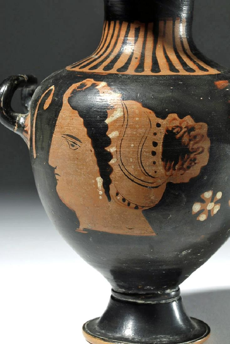 Greek Apulian Red-Figure Hydria, ex-Sotheby's - 5