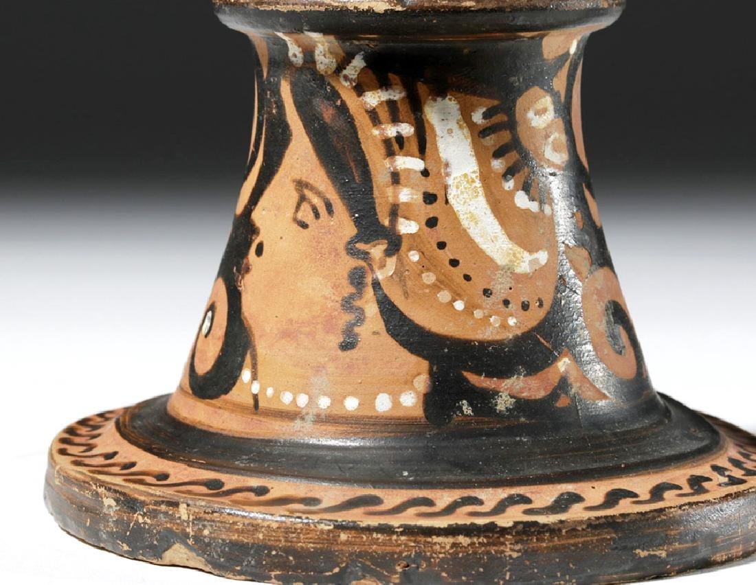 Greek Apulian Red-Figure Thymiaterion - 5
