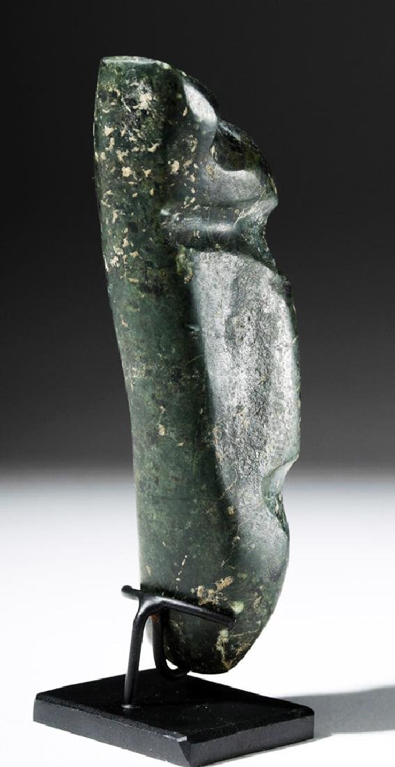 Guerrero Mezcala Greenstone Standing Figure - Rare Form - 3