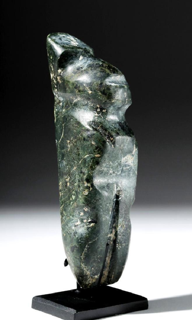 Guerrero Mezcala Greenstone Standing Figure - Rare Form - 4