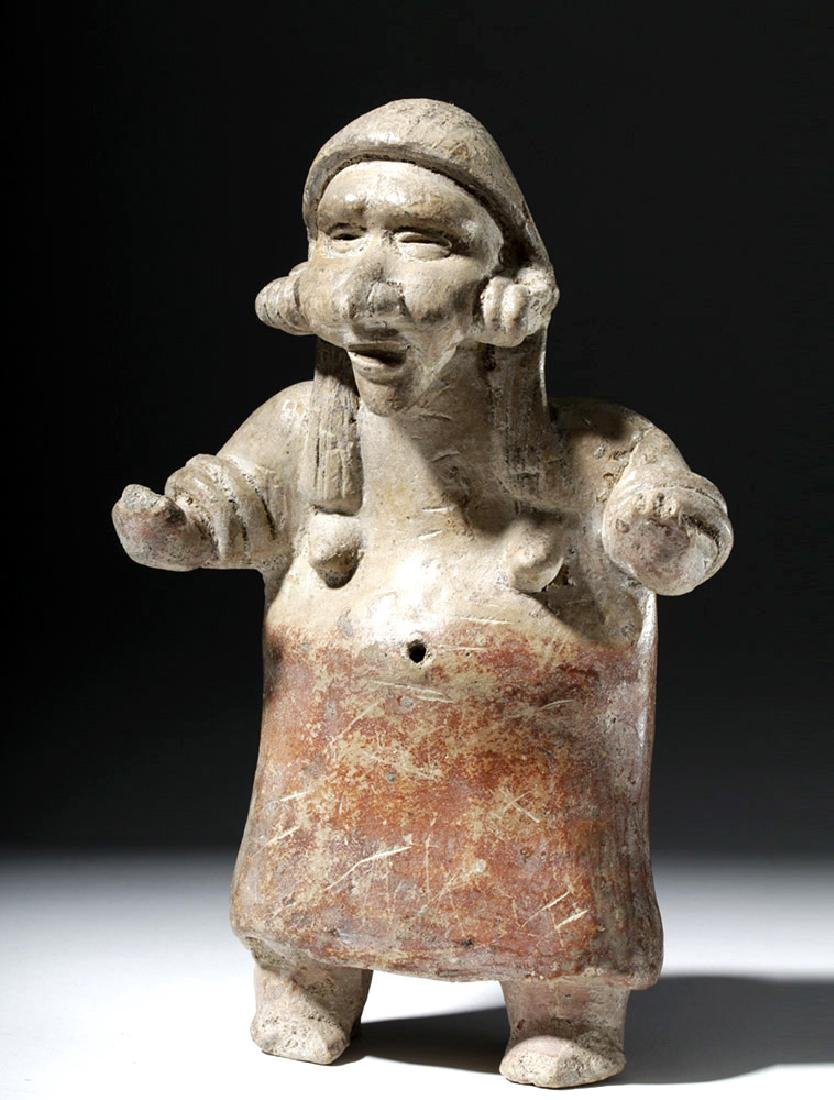 Jalisco Bi-Chrome Pottery Elderly Woman