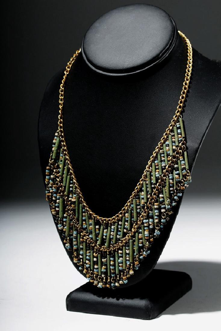 Egyptian Faience Mummy Bead Necklace, ex-Arte Primitivo - 2