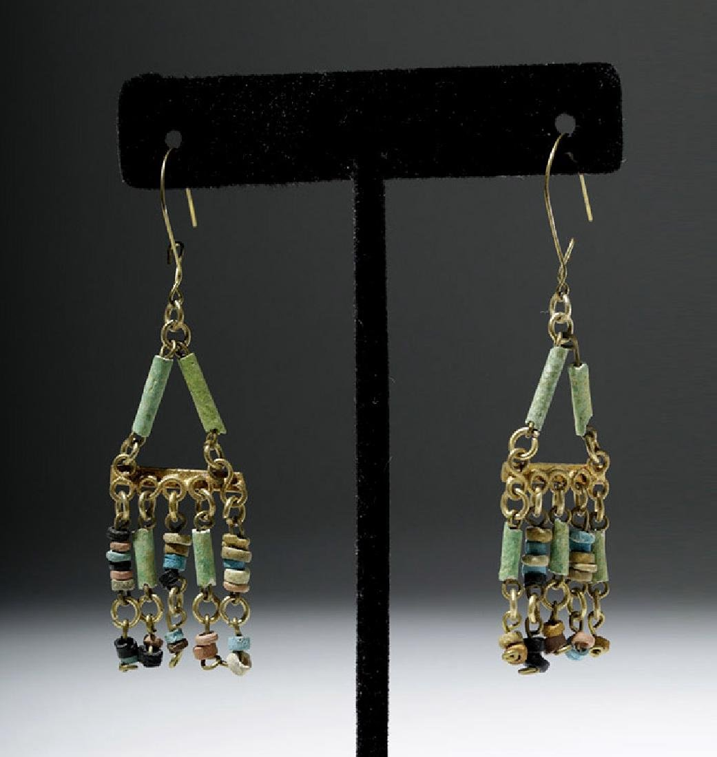 Egyptian Faience Mummy Bead Necklace, ex-Arte Primitivo - 5