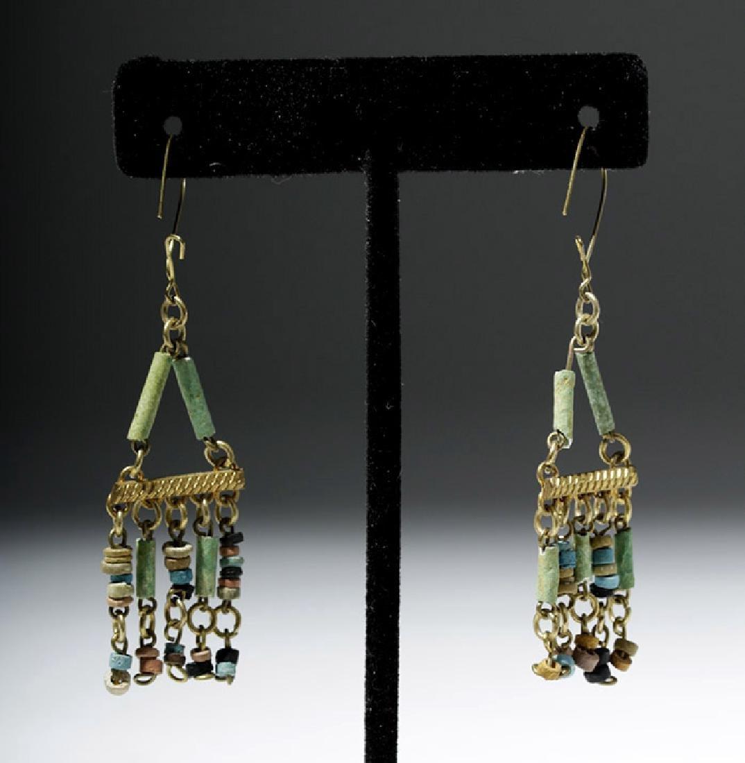 Egyptian Faience Mummy Bead Necklace, ex-Arte Primitivo - 7