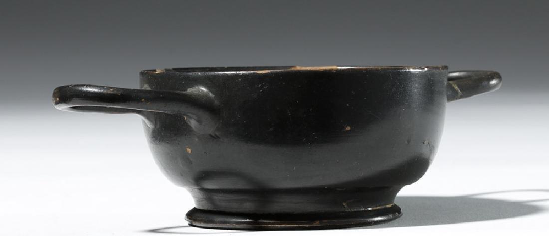 Greek Attic Blackware Kylix - Ex Sothebys - 2