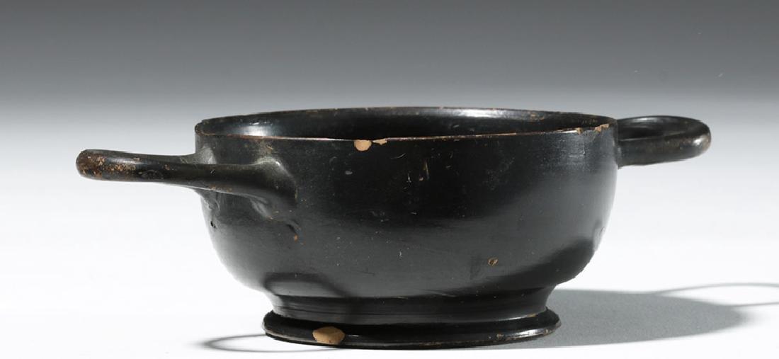 Greek Attic Blackware Kylix - Ex Sothebys - 4