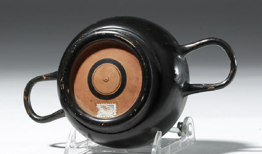 Greek Attic Blackware Kylix - Ex Sothebys - 6