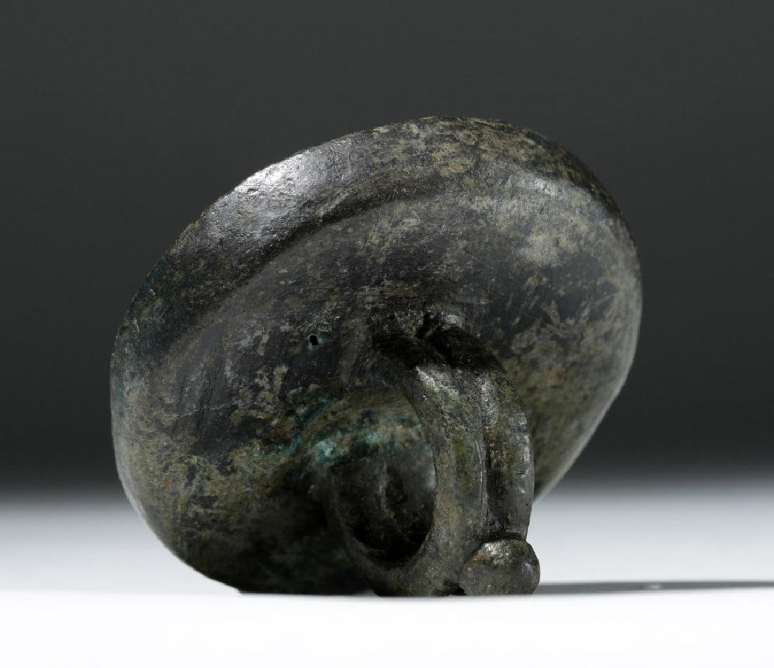 Remarkable Byzantine Bronze Bread Stamp - 4