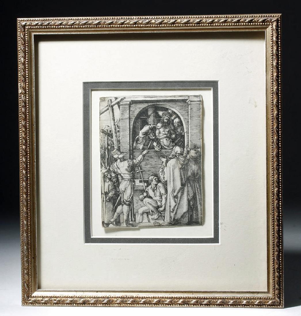 Renaissance Religious Engraving - Marcantonio Raimondi