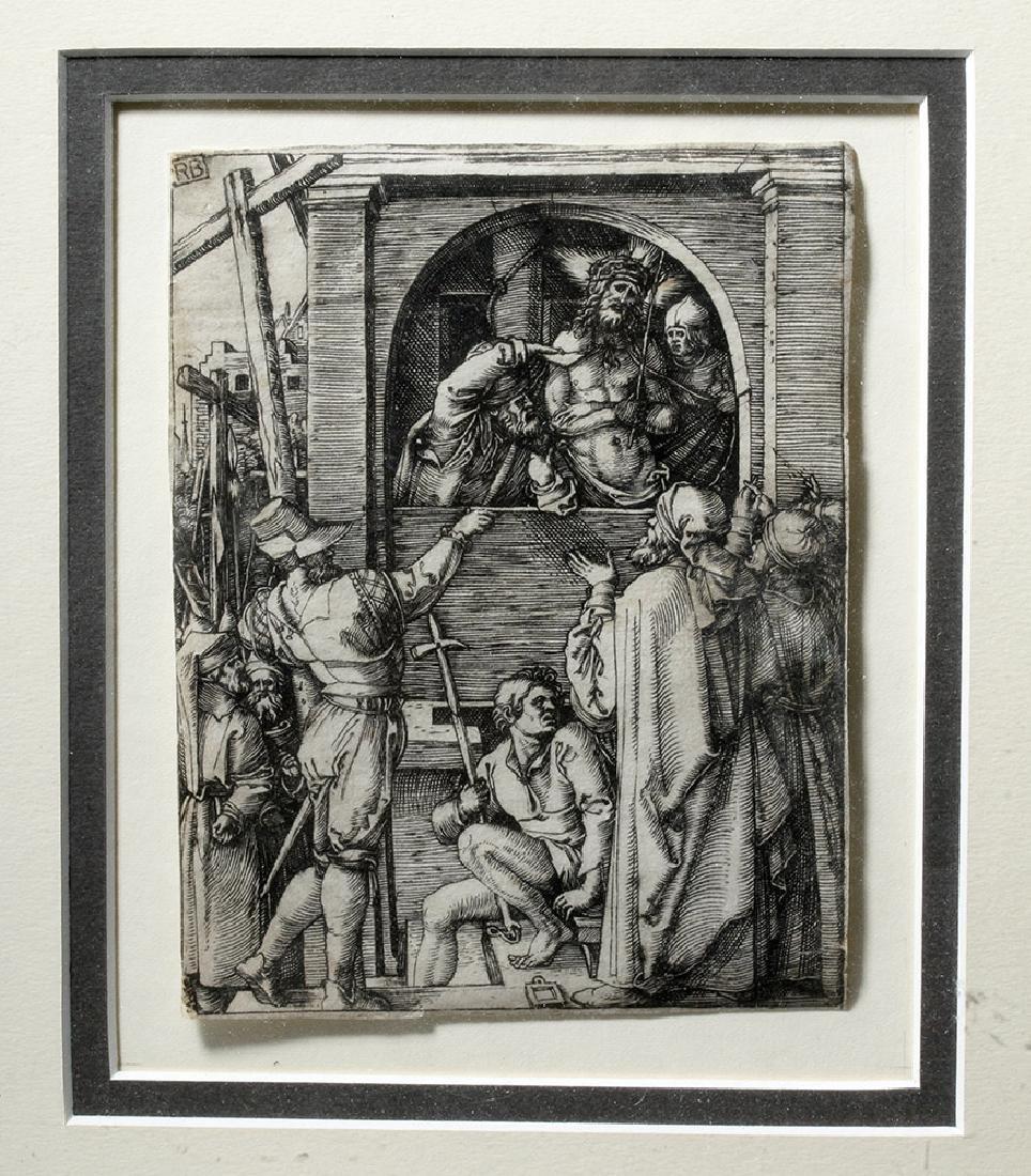 Renaissance Religious Engraving - Marcantonio Raimondi - 2