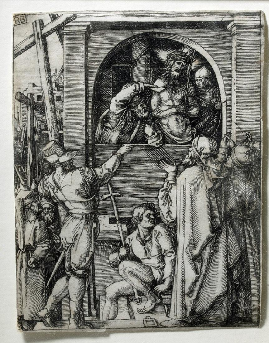 Renaissance Religious Engraving - Marcantonio Raimondi - 3