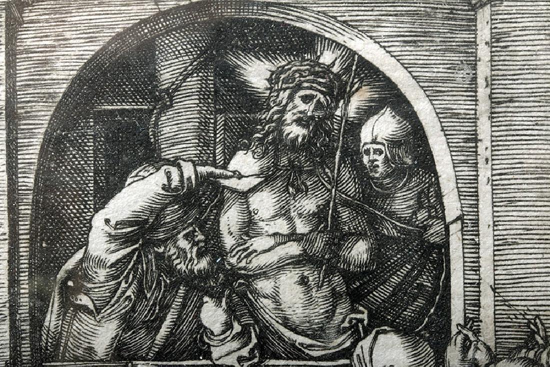 Renaissance Religious Engraving - Marcantonio Raimondi - 6