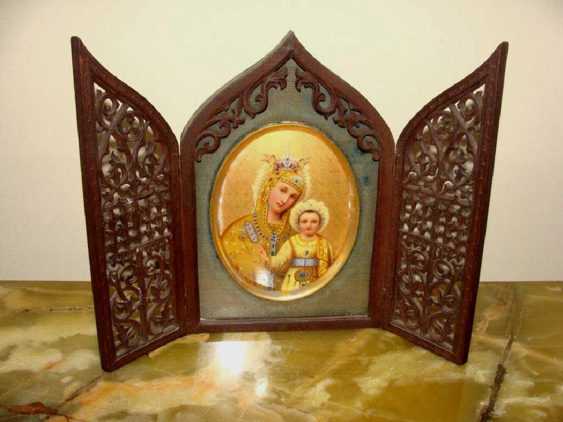 Painting on Porcelain MaDonna & Child