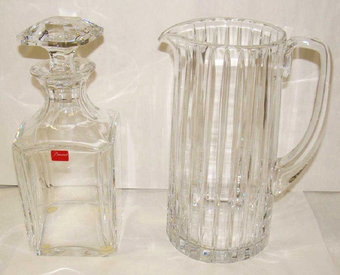 Lot of Baccarat Glass Pieces