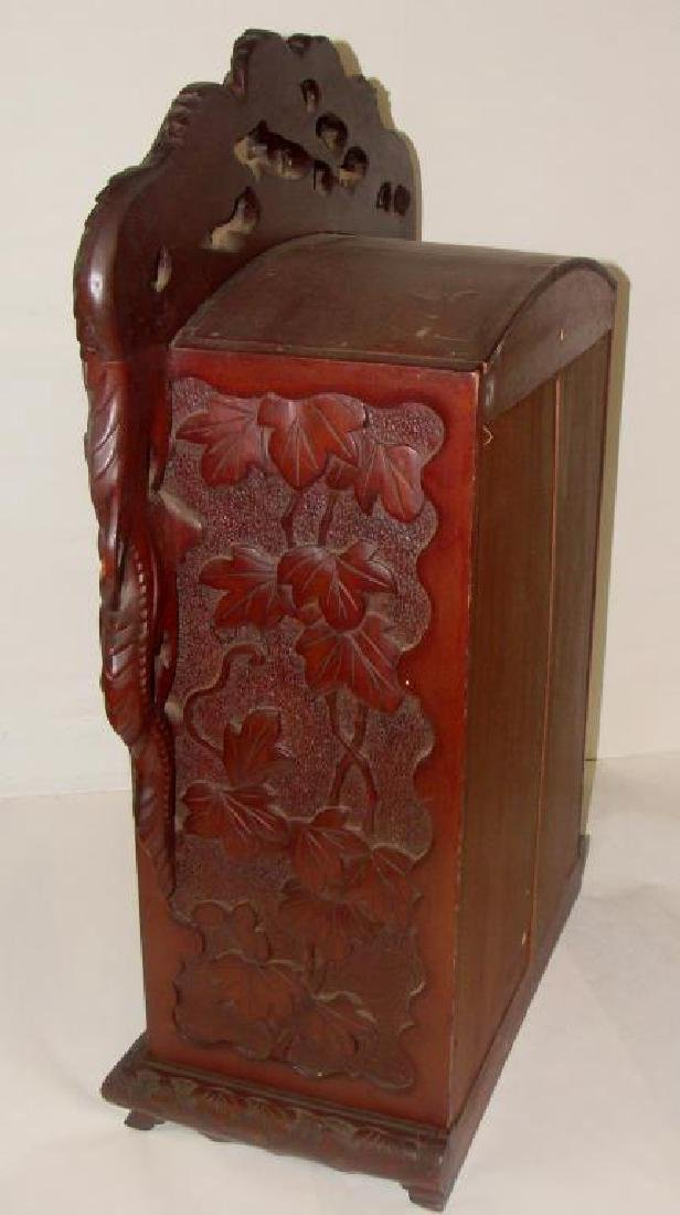 Chinese Hand Carved Cabinet - 5