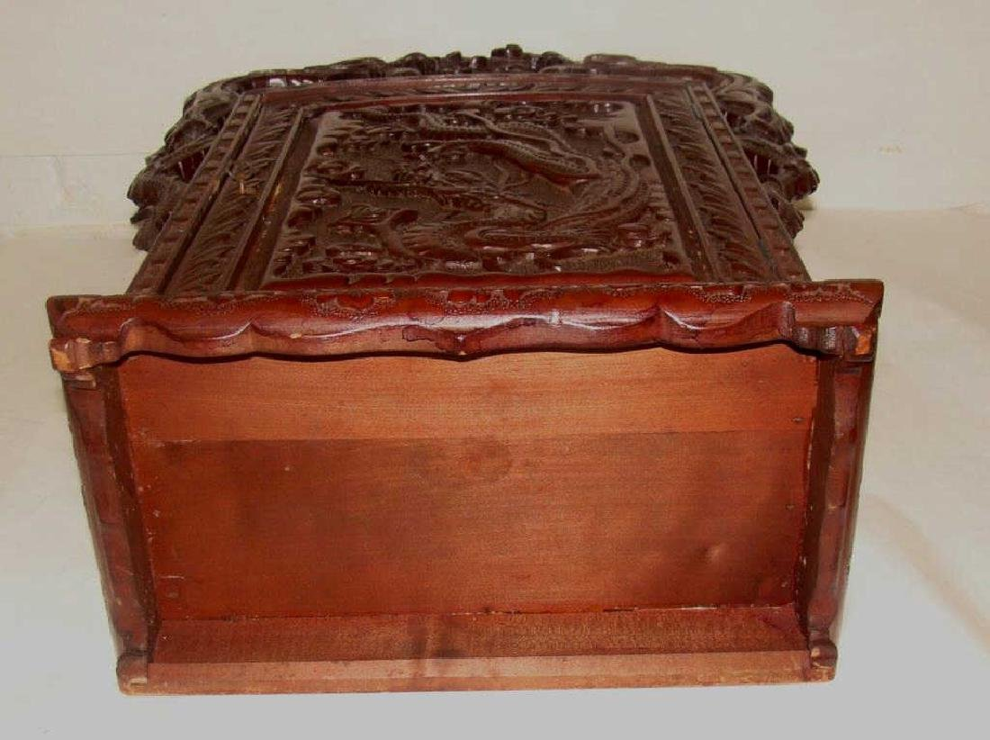Chinese Hand Carved Cabinet - 6
