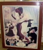 Original Signed Mae West Poster