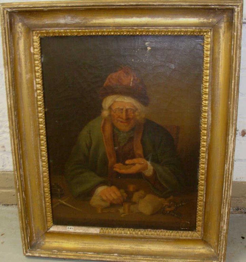 Portrait of a Old Miser O/C