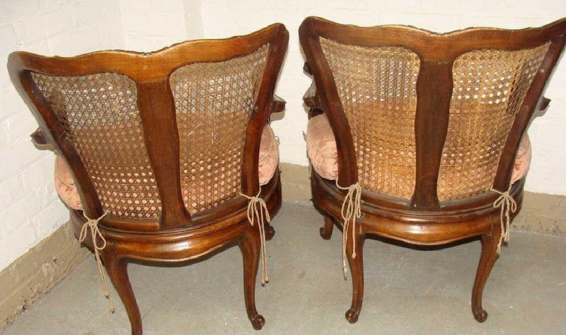 Pair of 18thc Venetian Side Chairs - 2
