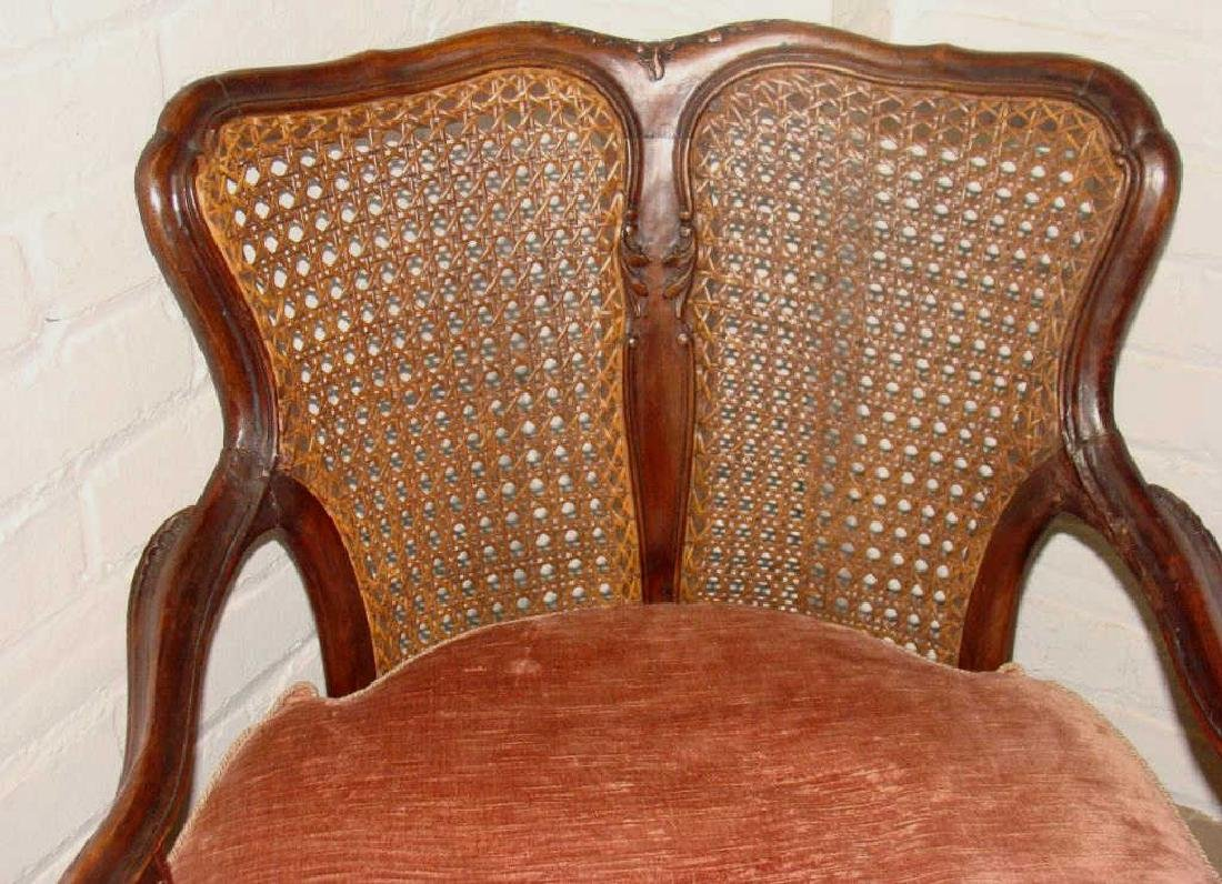 Pair of 18thc Venetian Side Chairs - 3
