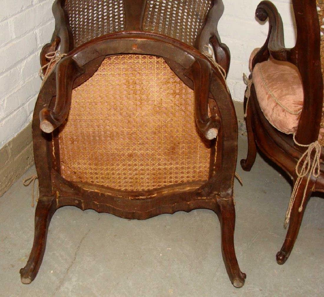 Pair of 18thc Venetian Side Chairs - 4
