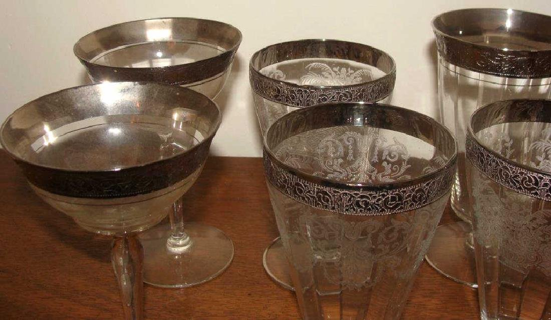 Silver Gilt Vintage Water  Glasses - 2