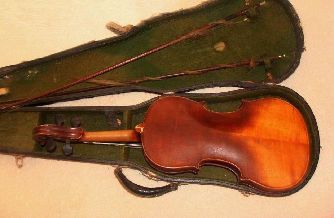 Antique Violin and Bows - 3