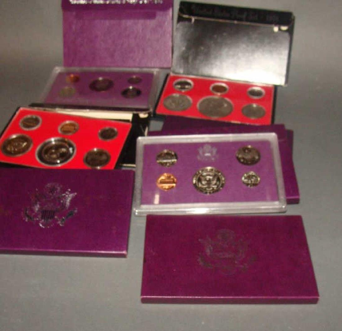 7 United States Proof Sets