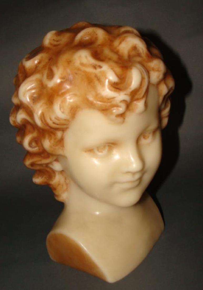 Large Wax Head Bust