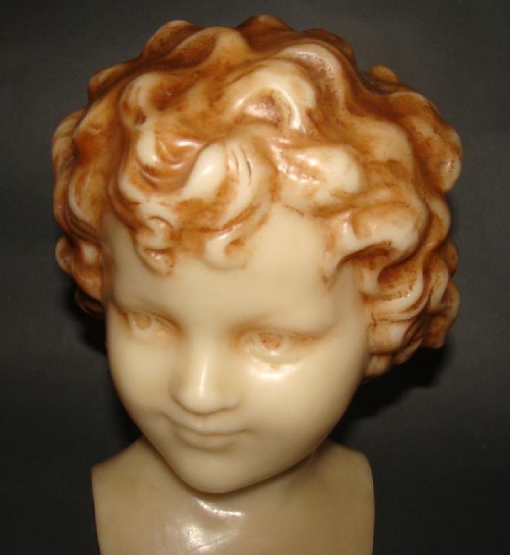 Large Wax Head Bust - 2