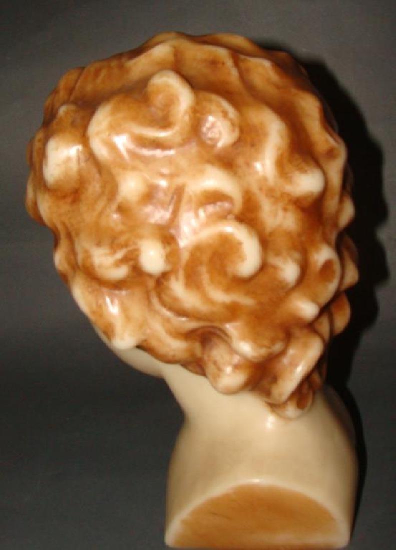 Large Wax Head Bust - 3