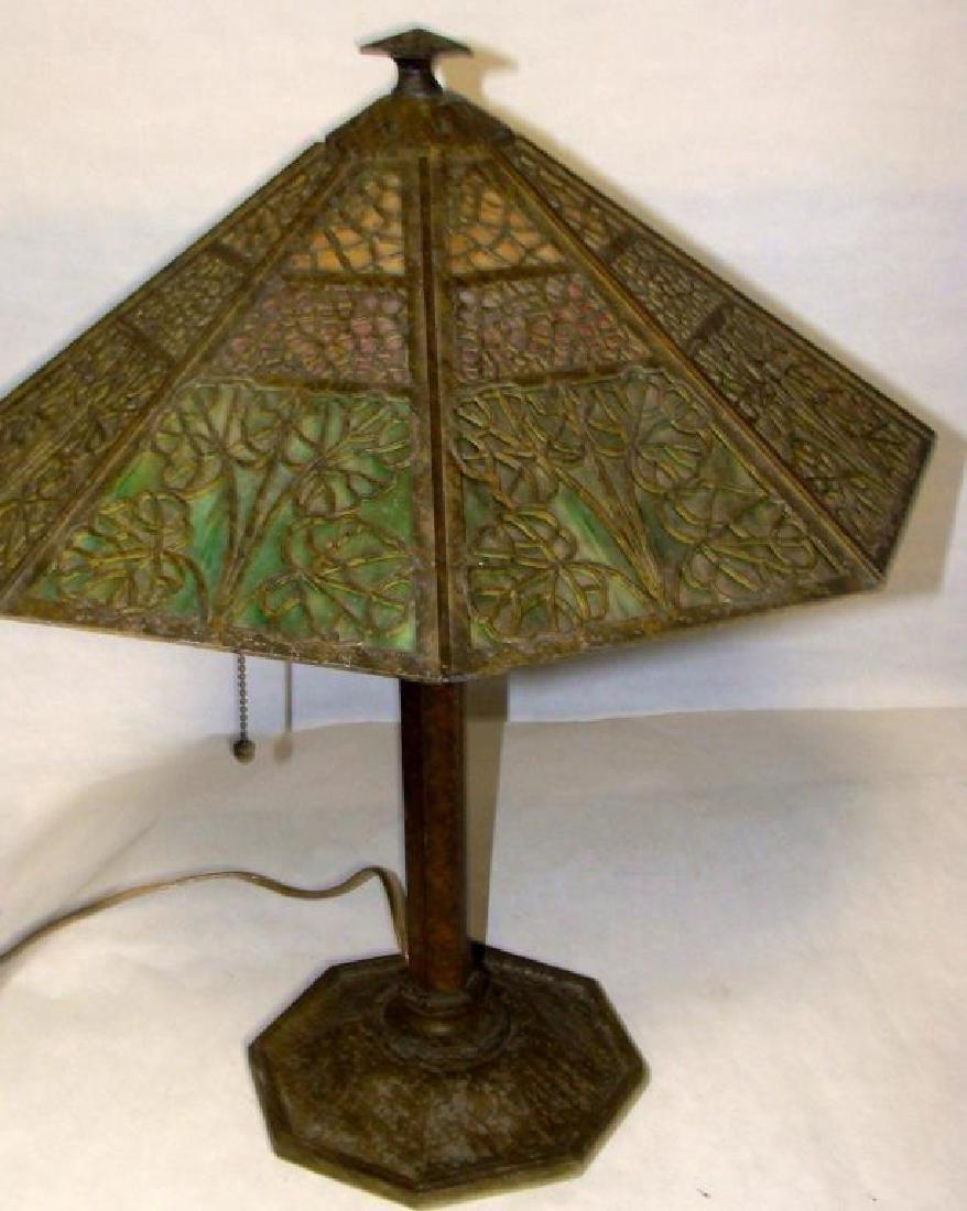 Arts & Crafts Bradley & Hubbard Lamp