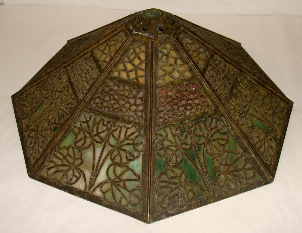 Arts & Crafts Bradley & Hubbard Lamp - 5