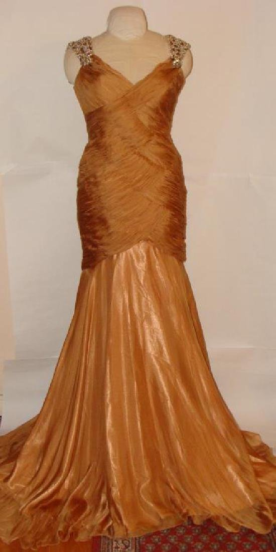 Vintage Couture Silk Gown
