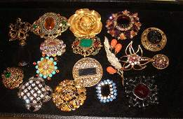 Vintage Costume Jewelry, Miriam Haskell, Robert