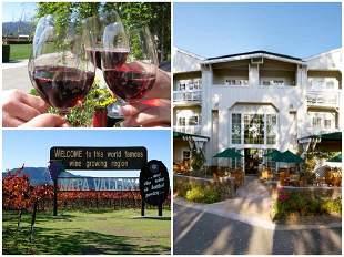Private Wine Tour Napa, California, 3 Days & 2 Nights