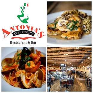 Antonia's On the Beach, Dinner Certificate