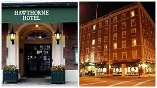 Hotel Stay, Historic Hawthorne Hotel Salem, MA