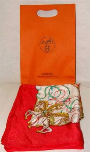 Hermes Silk Ladies Scarf