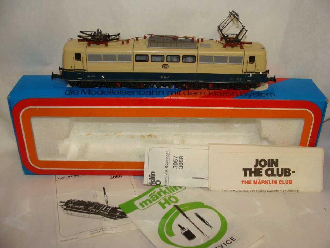 Marklin Ho Locomotive Train 3058
