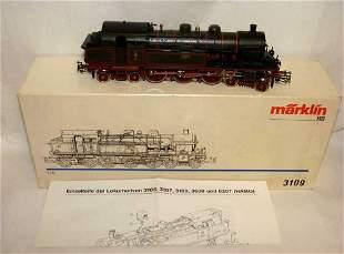 Marklin Ho Locomotive Train 3109