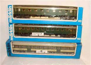 Lot of 3 Marklin Trains 4126