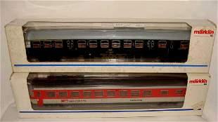 Lot of 2 Marklin Trains 4217, 4126
