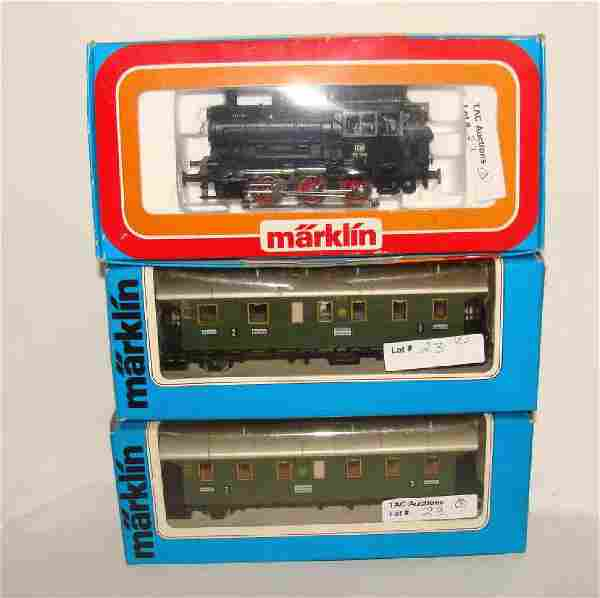 Lot of 3 Marklin Trains 4101
