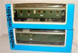 Lot of 2 Marklin Trains 4103