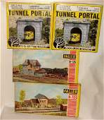 Lot of 4 Train Accessories/ Model Houses