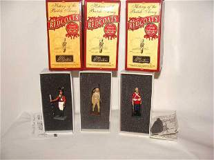 3 Britain Redcoats Toy Soldiers 43137