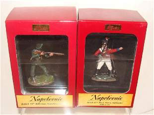 Lot of 2 Britain Toy Soldiers Napoleonic 36038