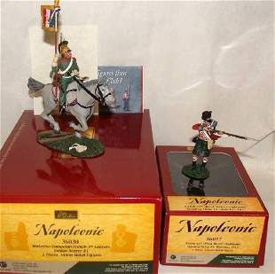 Lot of 2 Britain Toy Soldiers Napoleonic 36030